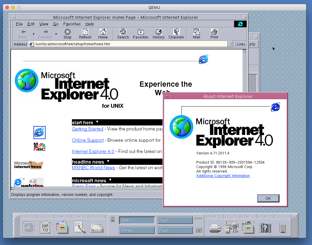 Fuck off, ie