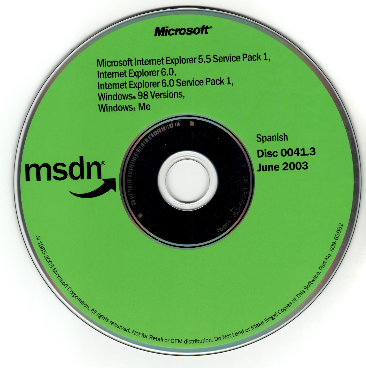 Request] Windows 98 First Edition Full CD {Not Upgrade} in Spanish
