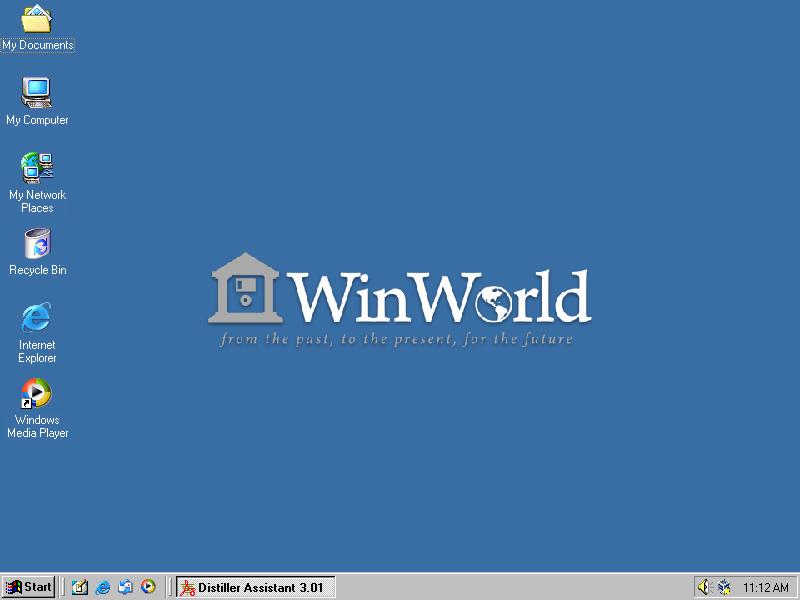 OFFER: Windows 2000 Server SP4 VM for VirtualBOX — WinWorld