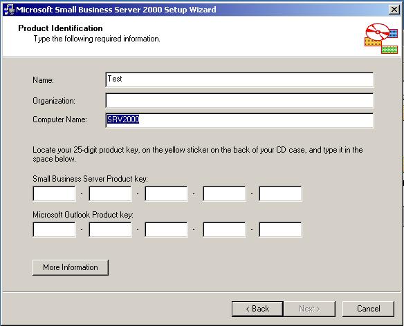 Windows 2000 Small Business Server Serials — WinWorld
